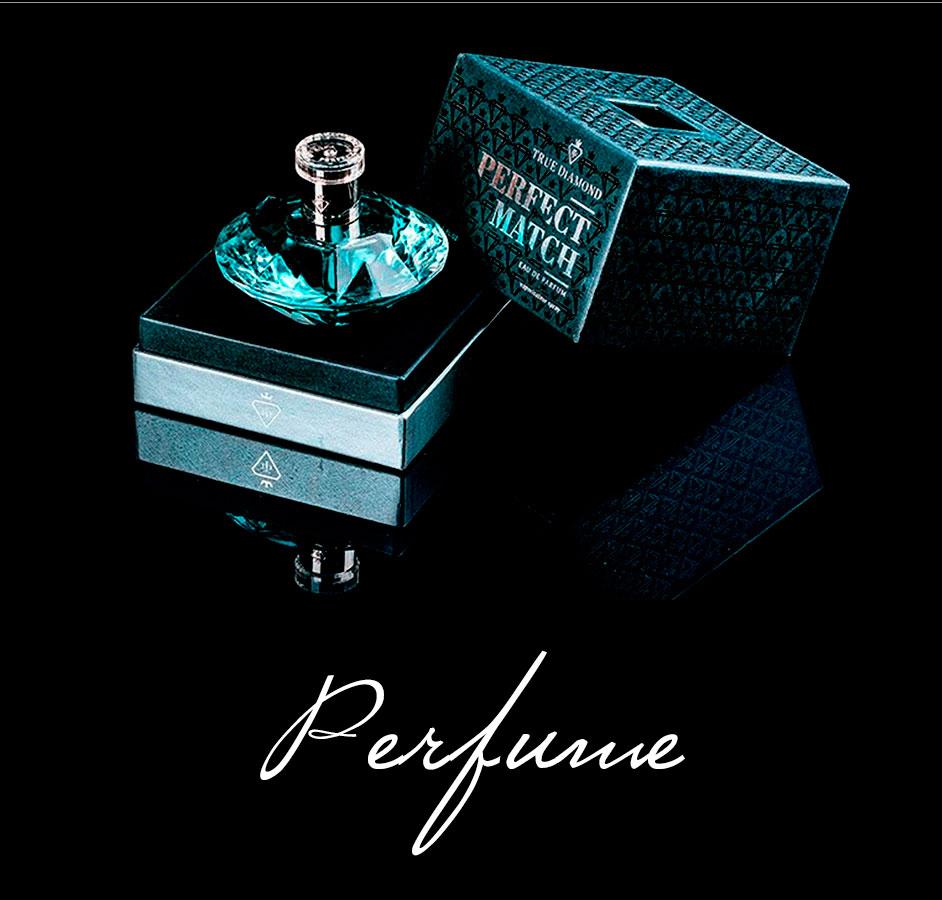 True Diamond Perfect Match Perfume Packaging
