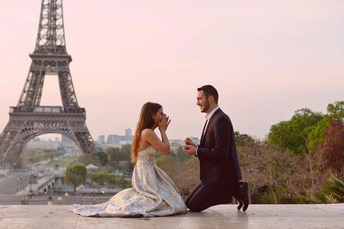 Proposta di matrimonio a Parigi…indimenticabile!