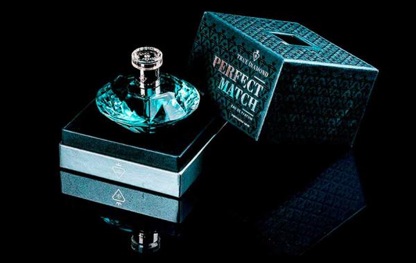 profumo con diamante regalo coppia